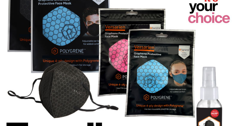 Family Pack Face Mask Offers Adult (Adult Size rated FFP2 R) and Children Face Covers